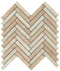 Декор Force Light Herringbone Mosaic 298x293