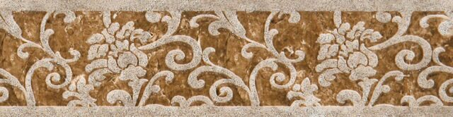 Gracia Ceramica Granada brown border 01 65х250